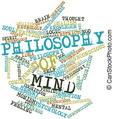 Word cloud for Philosophy of Mind - Abstract word cloud for...