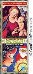EQUATORIAL GUINEA - CIRCA 1972: A stamp printed in...