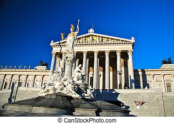 Austrian Parliament building - The Austrian Parliament...
