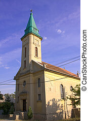 Reformed church in Dombovar - The reformed church in...