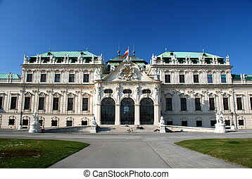 Upper Belvedere castle, Vienna - The Belvedere is a historic...