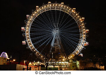 Prater Giant Ferris Wheel, Vienna - The Wiener Riesenrad...