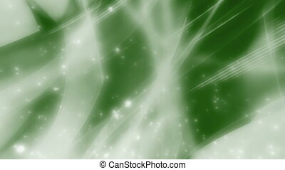Green high tech abstract looping animated background