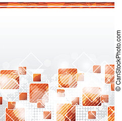 Abstract squares blank background for design business card