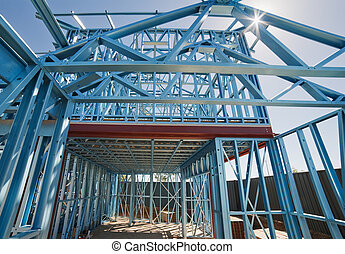 New home construction framing - New home under construction...