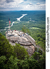 chimney rock overlook