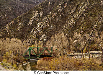 Train Bridge in the Wasatch - Train tressel