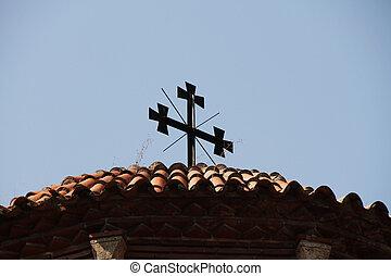bizantino, ortodoxo, igreja