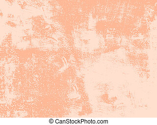 Peach Grunge Texture - Abstract texture - old scratched wall...