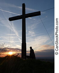 Sunset at the Cross