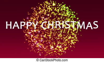 Wonderful christmas video, loop HD