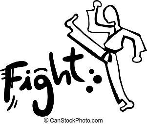 Kick fight