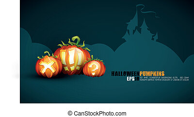 Halloween Poster | EPS10 Compatibility Needed | Objects...