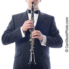 juego, clarinete
