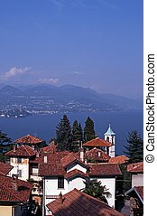 Stresa, lago, maggiore, italia