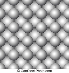 Abstract seamless vector background - Three-dimensional...