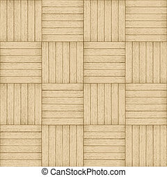 Parquet pattern - seamless wood background