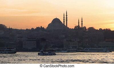 Suleymaniye, Istanbul - Istanbul Suleymaniye Mosque at...