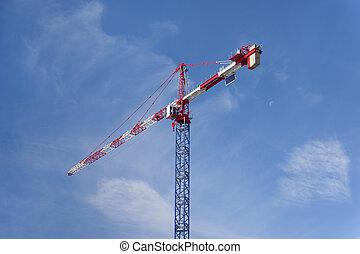 guindaste, construção