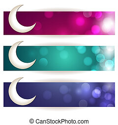 Eid Banners - Greeting card for eid mubarak