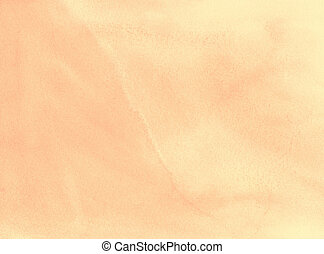 Background - beige abstract watercolour painting