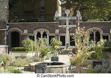 St John Gardens, Clerkenwell, Londo - Historic gardens of...