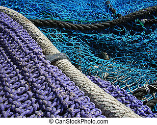 Threads and Nets - Details of nets and threads used for...