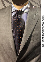 Elegant men suit - An elegant men suit on a mannequin