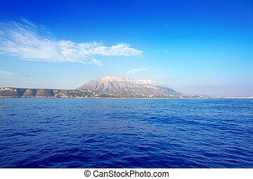 Alicante, provincia, Denia, aldea, Mongo