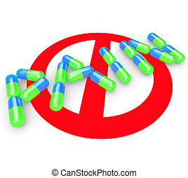 No Pain Word Pills Capsules Alleviate Painful Feeling - The...