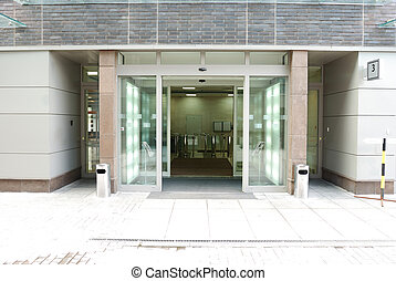 入口, 現代, オフィス
