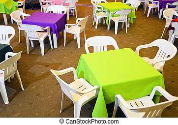 Children's Party Chairs and Tables