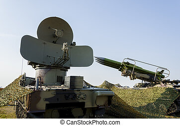 Anti aircraft missile system - self-propelled rocket...
