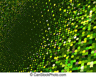 Abstract dot green mosaic background. EPS 8