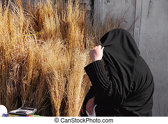 shyness - Purchases at the market in Tehran Iran