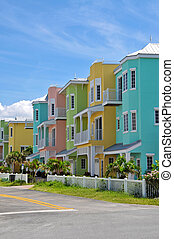 Colorful Beach Condominiums