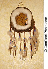 Dream Catcher - A Native American turtle shell dream catcher