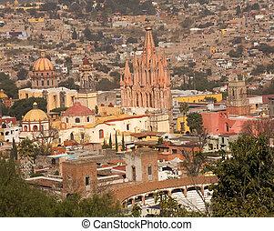 San Miguel Overlook Parroquia Archangel Church