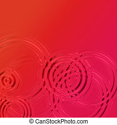 Red Wine Ripples - A red liquid with ripples which works as...