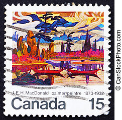 Postage stamp Canada 1973 Mist Fantasy by James E H...