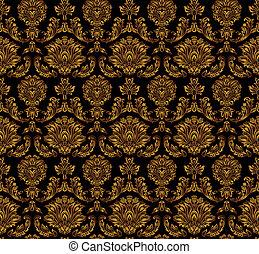 Seamless floral pattern. - Seamless floral pattern - vector...
