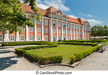 Meersburg. Germany - New Castle was built in the 18th. Now...