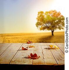 秋天, 背景