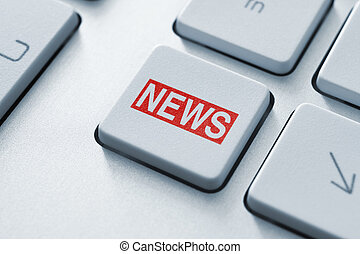 News button - Hot news key button on keyboard
