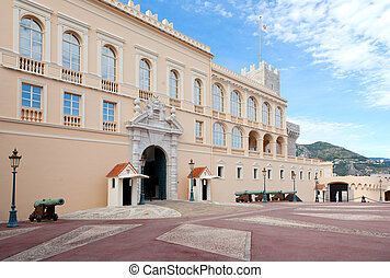 Princes Palace of Monaco - Palace of the Prince of Monaco