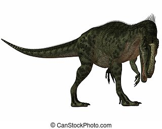 Monolophosaurus - 3D Render of an Dinosaur