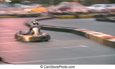 Go cart  race