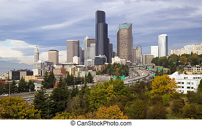 Seattle in the Fall - Seattle on a crisp fall day