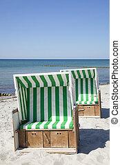 Beach Chair at the sea