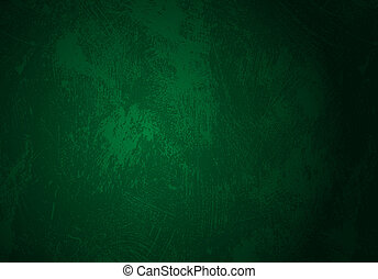 dark green grunge background - Vector seamless stained...
